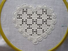 filling patterns « Luzine Happel Embroidery Hearts, Hardanger Embroidery, Embroidery Patterns Free, Hand Embroidery Stitches, Cross Stitch Embroidery, Crochet Patterns, Gold Embroidery, Lace Patterns, Embroidery Designs