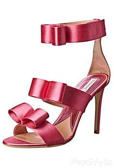 Vivienne Westwood Bow Satin Italian Slide Pump