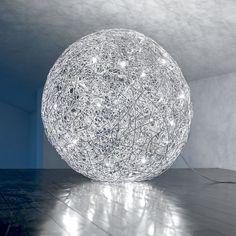 lampadario a palla : Oltre 1000 idee su Lampadario Di Filo su Pinterest Lavoro A Maglia ...