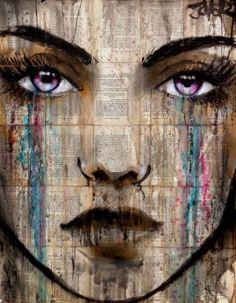 "Saatchi Art Artist Loui Jover; Drawing, ""ion"" #art"