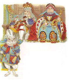 Иллюстратор Eric Kincaid.Автор Lewis Carroll.Сказка Алиса в стране чудес.Страна Великобритания.Год издания 1993.Издательство Brimax Books.........................................................