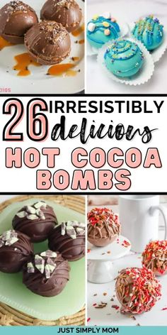 Hot Chocolate Gifts, Chocolate Candy Recipes, Christmas Hot Chocolate, Chocolate Diy, Chocolate Spoons, Cocoa Recipes, Chocolate Bomb, Hot Chocolate Bars, Dessert Recipes