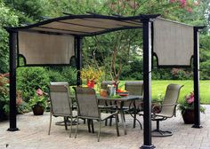 McLeland Design 8 x 10 Pergola Taupe Patio Pinterest