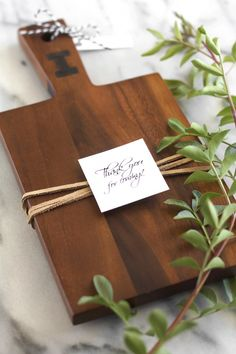 DIY Personalized Cutting Board