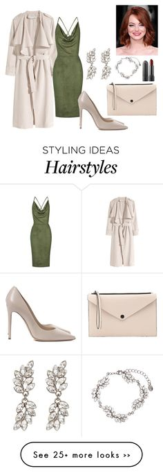 """""""something about khaki"""" by cico-193 on Polyvore featuring H&M, Rare London, Witchery, Madison Et Cie and Accessorize"""
