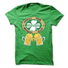 FITZPATRICK Drinking Team T-Shirts, Hoodies, Sweaters