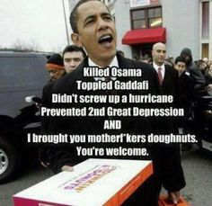 ...and I brought you mofos doughnuts. You're welcome.