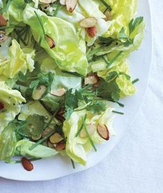 Boston Lettuce Salad With Herbs and Toasted Almonds | Raise the (salad) bar! With these crisp combos, it's easy to add greens to every meal.