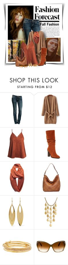 """""""Fashion Forecast"""" by diva1023 ❤ liked on Polyvore featuring Rock Revival, Sans Souci, Donald J Pliner, Nino Bossi Handbags, Kenneth Jay Lane, John Hardy, Kate Spade and Oliver Peoples"""