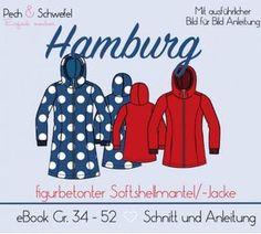 Ebook - Softshellmantel   -Jacke Hamburg für Damen (in A4 und A0) - Größen  34 bis 52 b64d2ea48f