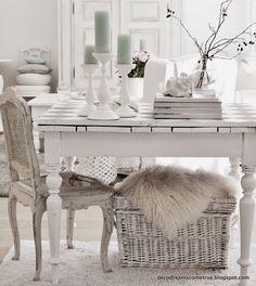 In unserem Wohnzimmer gibt es kleine Veränderungen.. anstelle unseres Esstisches (der übrigens in unsere Küche gewandert ist) , steh...