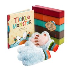 801f6296c898 Buy Tickle Monster Laughter Kit (Book + Tickle Mitts) by Josie Bissett at Mighty  Ape NZ. Share the treasured gift of laughter with your child!