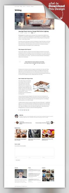 Writing Blog - Personal Blog blog, blog theme, blogging, clean, creative, masonry, minimal, modern, personal, read, readability, simple, simple and clean, typography, white Wrting is a clean and minimal blog theme for perfect for writers who need to create personal blog site with simple creative features and effects to make readers feel the pleasure of reading blog posts and articles, Writing personal blog theme mixes between modern, classic and ...
