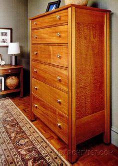 Dresser  Plans - Furniture Plans and Projects   WoodArchivist.com