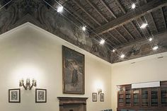 cable lighting | Cable Lighting. Great for exposed, high, beamed ceilings.