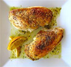 Ina Garten's Lemon Chicken Breasts