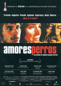 Amores perros :: Alejandro González Iñárritu, 2000 - Octavio has an obsessive crush on his sister-in-law; Daniel dumps his family for a disturbed supermodel; and El Chivo plans an assassination.