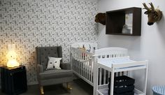 Wonderland inspired nursery by Bright Kids Interiors