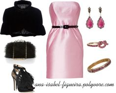"""Pink Night!"" by ana-isabel-figueira on Polyvore"