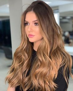 70 stunning long blonde hair color ideas for spring and summer - page . - 70 stunning long blonde hair color ideas for spring and summer – page … - Brown Ombre Hair, Light Brown Hair, Ombre Hair Color, Hair Color Balayage, Brown Hair Colors, Hair Highlights, Brunette Color, Hair Colours, Blonde Color