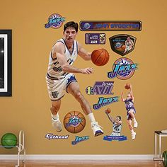 Amazon.com   NBA Utah Jazz John Stockton 2015 Legend Real Big Services  Photo   Sports   Outdoors 0098f0c87