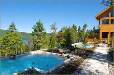Geos-spa in Sacacomie, Quebec
