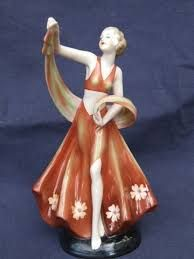 Image result for art deco figurines