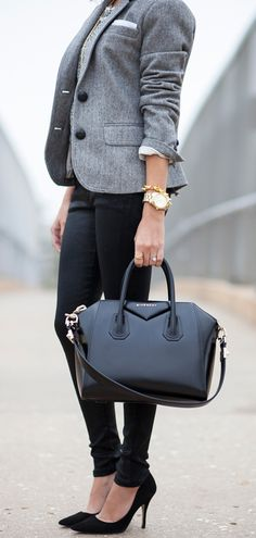 purs, bag, outfit