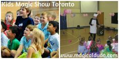 The party magic shows are always made to order to each audience, so you can be confident the kids will have a wonderful time, whatever their age group. Learn more about our Kids Magic Show in Toronto. http://www.magicalduda.com/services