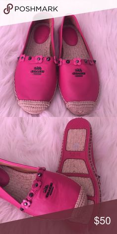 Brand new coach 👠 price firm 👠 Cute brand new Coach Shoes