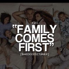 Yes My family dose come first I ❤️ My kids and husband