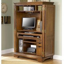 Don't miss Harvest Mill Desk Armoire OnSale Revise