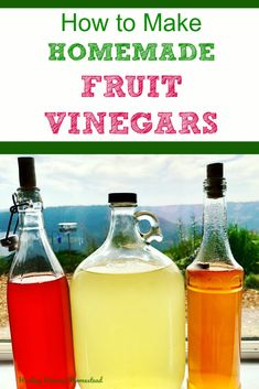 Have you ever wondered how to make that tasty fruit vinegar? You can, and it& easy & healthy! Here are my complete directions for how to make your own raw apple cider vinegar and other fruit vinegars. You& also find out about how the chemis Raw Apple Cider Vinegar, Coconut Oil Weight Loss, Vinegar With The Mother, Fermentation Recipes, Natural Cough Remedies, Natural Cures, Sleep Remedies, Vinegar, Deserts