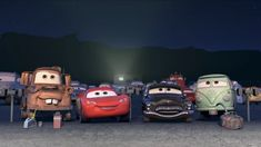 Is Mater eating pop rivets? Disney Cars Movie, Disney Cars Party, Pixar Movies, Car Party, Disney Stuff, Disney Cars Wallpaper, Car Animation, Cars 2006, Jeep Wheels
