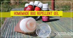 Cool check this out  Looking for a natural way to repel mosquitoes then read on to get an amazing homemade bug repellent gel recipe that is super easy to make and super portable!  It ...
