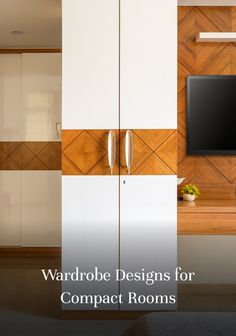 Looking for an attractive storage solution for a cramped space? Our latest wardrobe designs for small Indian bedrooms promise to leave you inspired!