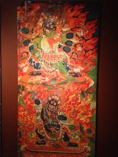 Rubin Museum of Art, NYC. Photo taken by Samudrasambhava. See the rest at https://www.pinterest.com/Samudrasambhava/