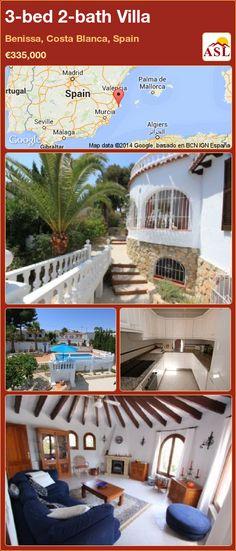 3-bed 2-bath Villa in Benissa, Costa Blanca, Spain ►€335,000 #PropertyForSaleInSpain