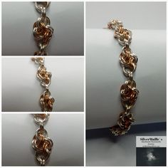 Sterling Silver 925 Double Cloud Bracelet #GiftForMom #HandmadeJewelry #SilverBracelets #VikingMaille #HandmadeInNorway #GiftToHerFromHim #DoubleCloudPattern #ChainmailleJewelry #CloudBracelet #VikingChain Handmade Jewelry, Unique Jewelry, Handmade Gifts, Clouds Pattern, Chainmaille, Silver Bracelets, Gifts For Mom, Jewelry Making, Jewels