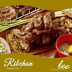 Have a taste of the best-selling baby back ribs lechon only at Ribchon Tagaytay! Drop by when you stay at #LeeBoutiqueHotel