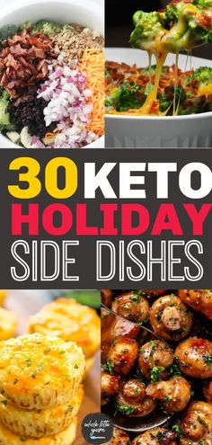 30 Keto Side Dishes