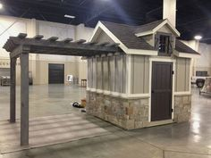 Shed Plans - Id like a storage shed, with a separate covered area for outdoor dining. Id add a porch to go with it. Utah Storage Sheds -This is so cute. - Now You Can Build ANY Shed In A Weekend Even If You've Zero Woodworking Experience! Wood Shed Plans, Diy Shed Plans, Storage Shed Plans, Garage Storage, 8x12 Shed Plans, Small Shed Plans, Pool Storage, Garage Shed, Workshop Storage