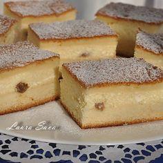Prajitura turnata cu branza No Cook Desserts, Sweets Recipes, Healthy Desserts, Cake Recipes, Cooking Recipes, Romanian Desserts, Romanian Food, Hungarian Recipes, Food Cakes
