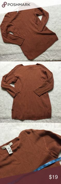 Ballinger Gold medium ribbed knit tunic blouse Great condition Vintage Tops Tunics