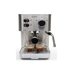 Capresso EC PRO Professional Espresso & Cappuccino Machine, Refurbished (Capresso EC PRO Espresso & Cappuccino Machine), Silver Stainless Steel