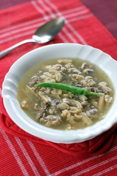 Pinapaitan is a very popular dish in the Northern Part of the Philippines more specifically in Ilocos Region, the original dish consists of goat and ox innards and its meat flavoured with bile, tamarind and chillies.