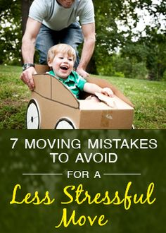 Seven moving mistakes to avoid for a less stressful relocation. #realestate