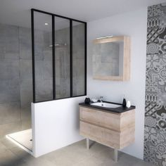 Timeless and modern at the same time, the shower in the Italian makes wonder . Double Shower, Condo Remodel, Gallery Frames, Porch Entry, Common Area, Home Look, Built Ins, Double Vanity, New Homes
