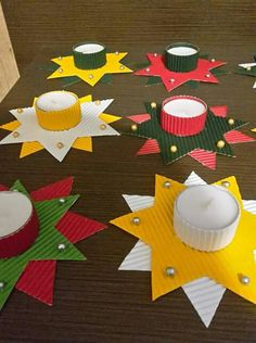 Weihnachtskarten Basteln Mit Kindern Schön Kerzenhalter Basteln An Weihnachten … Cartões de Natal Crafting Com Crianças Nice Castiçais Crafting No Natal Easy Crafting With Kids For Kids Crafts, Christmas Crafts For Kids, Christmas Activities, Christmas Art, Diy And Crafts, Christmas Gifts, Paper Crafts, Christmas Ornaments, Holiday