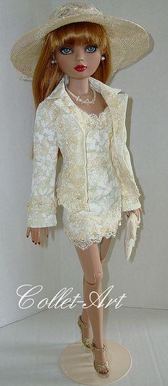 "2013 Tonner Wilde Imagination Ellowyne Wilde Prudence Moody Friends OOAK Fashion ""Seashore Event"" Collet-Art | by collet-art"